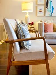furniture wooden chair with beige cushions plus wooden flooring