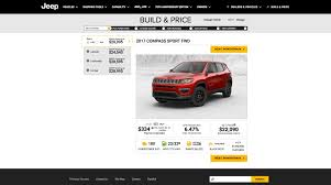 jeep open roof price iihs crash test 2017 jeep compass fails to earn top safety pick