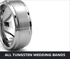 Mens Wedding Rings Tungsten by Designer Tungsten Rings And Wedding Bands Since 2002