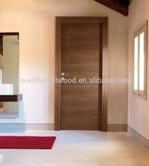 Interior Veneer Doors Black Walnut Veneered Solid Flush Doors Wooden Design View