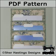Wall Organizer Office Pdf Pattern For File Folder Pocket Organizer File Pocket Wall