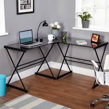 Diy Glass Desk Glass Desk 2 Person Computer Desk We Furniture Glass Metal