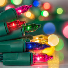 Colored Christmas Lights by Battery Powered Multi Colored String Lights Best Christmas