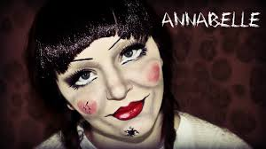 annabelle makeup tutorial the conjuring doll youtube