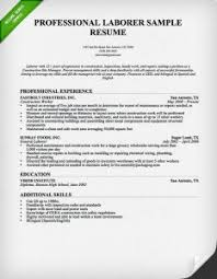 Construction Worker Resume Examples by Winsome Design Laborer Resume 6 Construction Worker Resume Sample