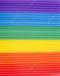 rainbow cocktail texture of rainbow cocktail sticks rainbow horizontalstripes
