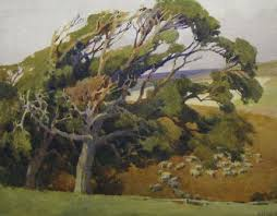bid napper harry napper 1860 1920 a windswept hillside catawiki