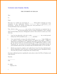 At Will Employment Termination Letter by 5 Separation Letter Childcare Resume