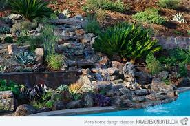 Steep Hill Backyard Ideas 15 Ideas Showcasing Landscaping For Rocks Home Design Lover