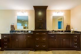 Modern Walnut Bathroom Vanity by Bathroom Elegant Double Sink Bathroom Vanities For Bathroom