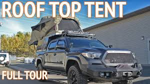 overland camper ultimate roof top tent overland truck camper youtube