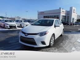 toyota siege used 2016 toyota corolla le groupe a siege chauffant recul