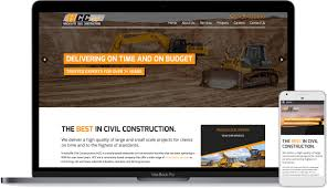 web design home based business website launch hinchcliffe civil constructions robert mullineux