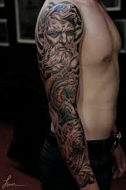 simple full sleeve 3d men face tattoo for sleeve golfian com
