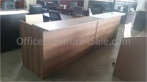 Reception Desk Shell Cherryman S 71 W Reception Front Desk Shell With Frosted