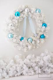 Pastel Blue Christmas Decorations by 490 Best A Tiffany Blue Christmas Images On Pinterest Blue