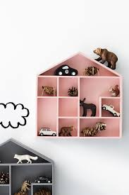 House Shaped Shelves For Little Things Tinylittlepads - Shelf kids room