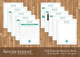 Lds Temple Floor Plan Lds Baptism Memory Book Printable 8 5 X 11 Size Pages
