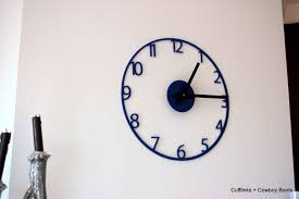 hand made home wall decor wall clock clock in acrylic or