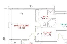 master bedroom floor plans with bathroom master bathroom floor plans home design ect