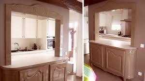 cuisine passe plat création d un meuble passe plat très décoratif par abema