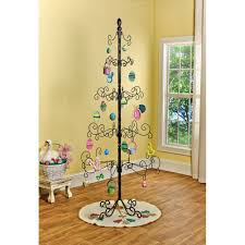 wrought iron chirstmas ornament display tree 83