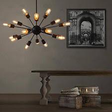 18 Light Starburst Chandelier Sputnik Light Ebay