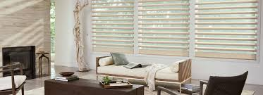 livingroom window treatments sheer shadings window shadings pirouette hunter douglas