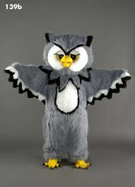 owl costume library mascot owl for schools and bookclubs safe around children