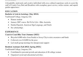 sample resumes for recent college graduates college grads how