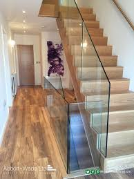 Glass Handrails For Stairs The 25 Best Glass Balustrade Ideas On Pinterest Glass Stairs