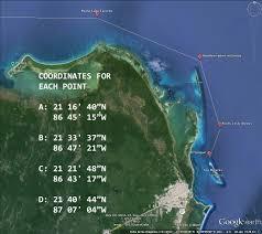 Progreso Mexico Map by Route From Isla To Progreso