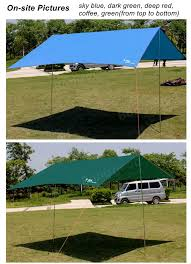 Camping Tent Awning Ipree Outdoor Camping Tent Sunshade Anti Uv Waterproof Sun