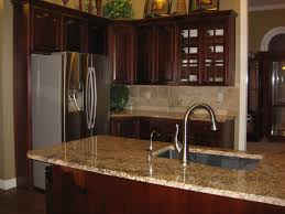giallo fiorito granite with oak cabinets stonewood wood work after stuhlsatz kitchen