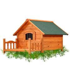 amazon com pet squeak porch pups dog house large pet supplies