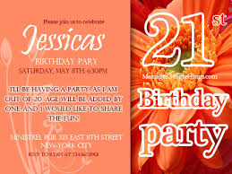 invitation ideas 21st birthday invitations 365greetings