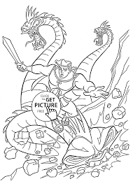 and dragon coloring pages for kids printable free