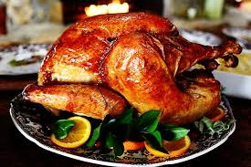 roasted orange rosemary butter turkey authentic thanksgiving bbq