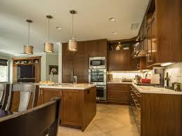 thousand oaks custom cherry kitchen and family room doopoco
