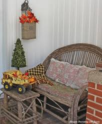 bargain decorating with laurie fall decorating continues