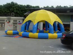 dome wedding celebration inflatable party tent with pool