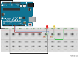 arduino lesson 3 for loops for simple led circuit technology