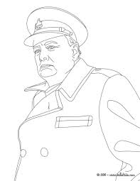 winston churchill coloring page history coloring sheets
