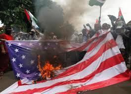 Flag Of Jerusalem Hardline Indonesian Muslim Groups Burn U S Israeli Flags Over