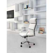 White Office Furniture Zuo Lider Pro White Office Chair 205311 The Home Depot