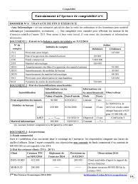 matériel de bureau comptabilité entraînement 6 pdf