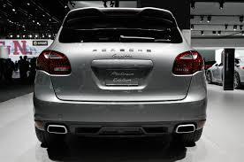 porsche cayenne platinum edition 2014 2014 porsche cayenne platinum edition debuts on v 6 gas diesel