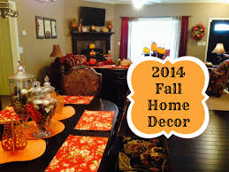 2014 fall decorations home tour and mini diy u0027s youtube
