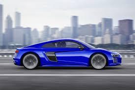 Audi R8 Blue - audi r8 e tron in detail