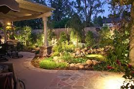 Outdoor Landscaping Lighting Landscape Lighting Custom Garden Landscaping